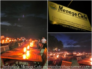 MENEGA CAFE, JIMBARAN BEACH