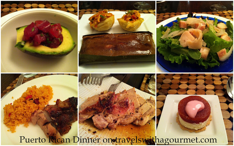 Our first puerto rican dinner travels with a gourmet our first puerto rican dinner forumfinder Choice Image