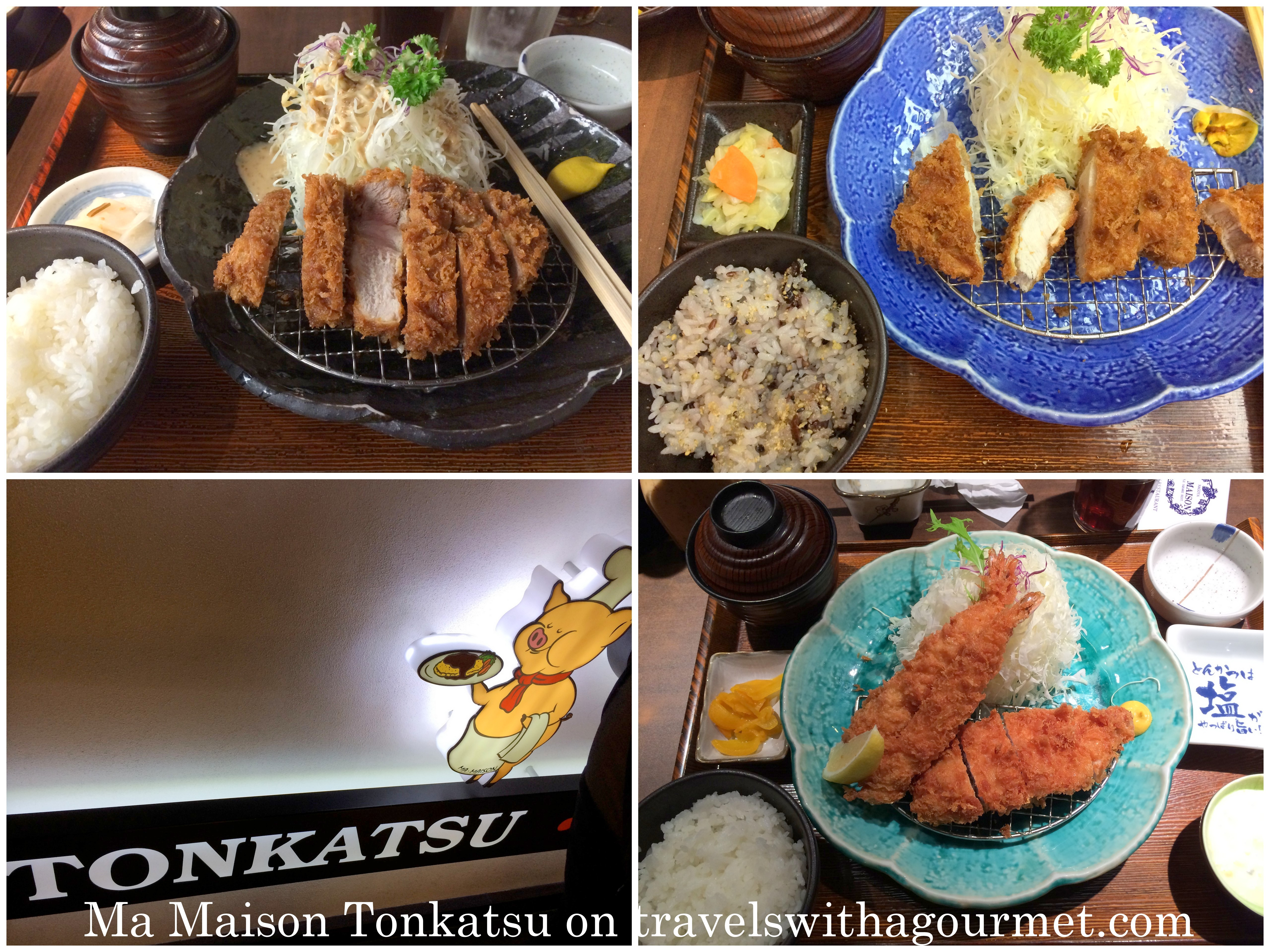 Travels with a gourmet a food lover 39 s travels memorable for Aloha ma maison singapore